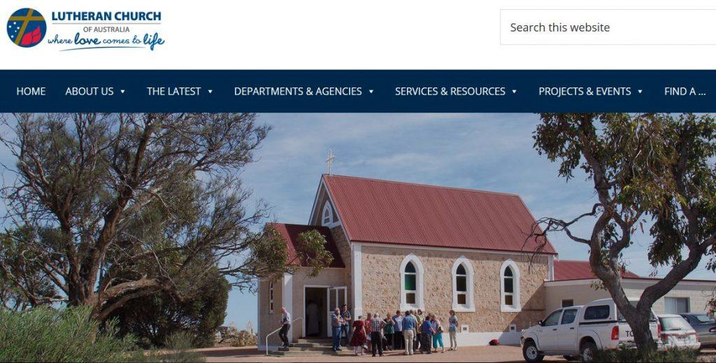 lca website homepage