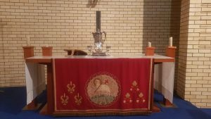 Communion setting for special occasions