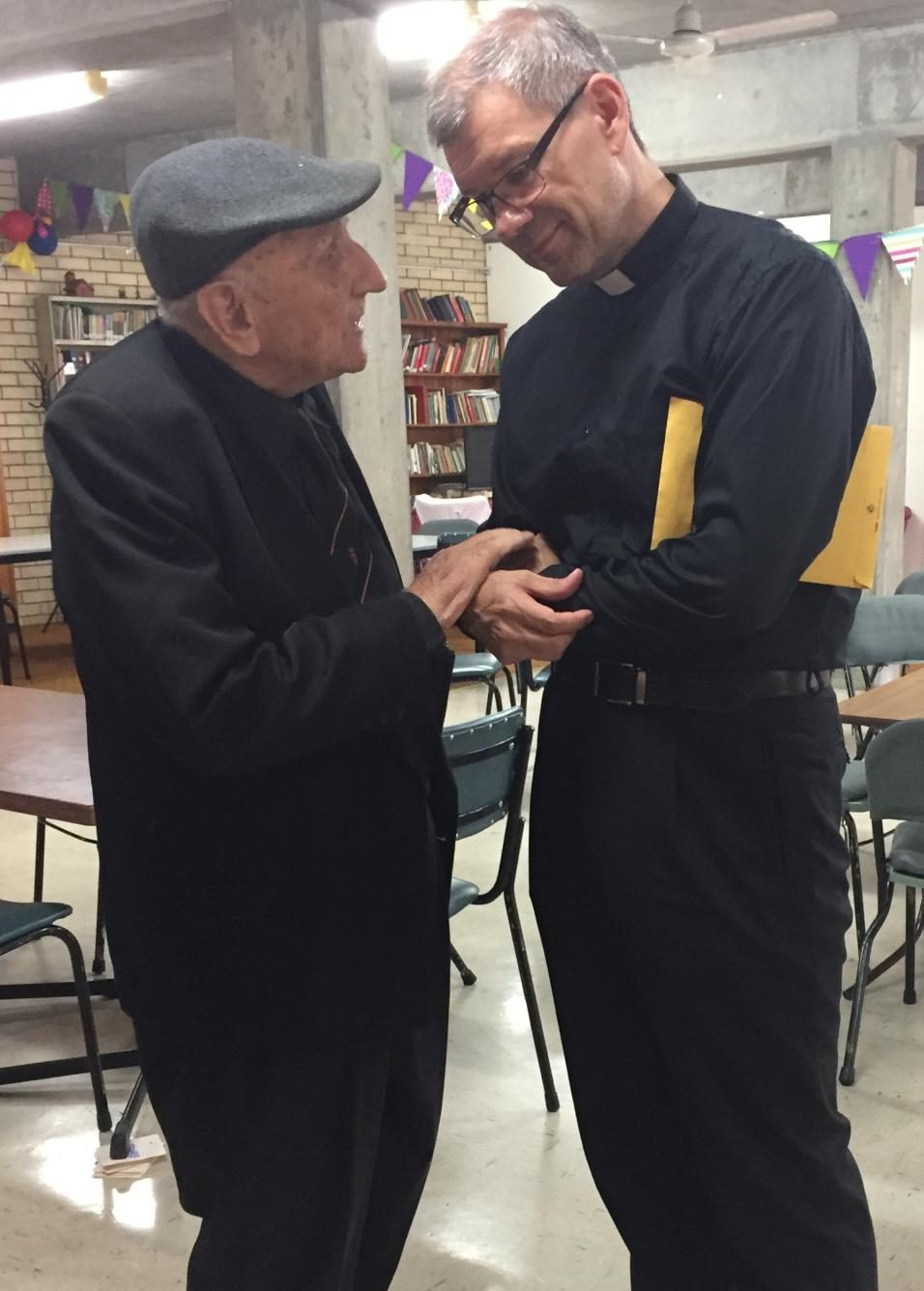 Bishop Emeritus Rev Paul Renner and Rev Tommi Vuorinen